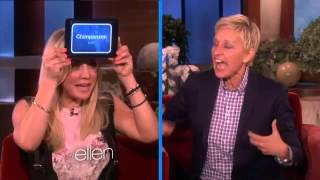 Ellen and Kaley Cuoco Play 'Heads Up!'29