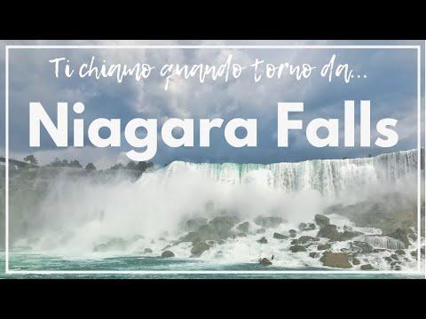 Un Giorno Alle Cascate Del Niagara (dal Lato Canadese!)