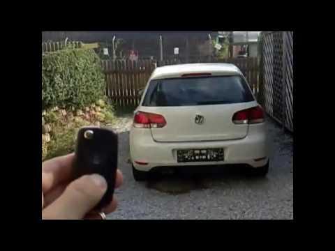 VW GOLF VI (6) tailgate automatic open via remote control