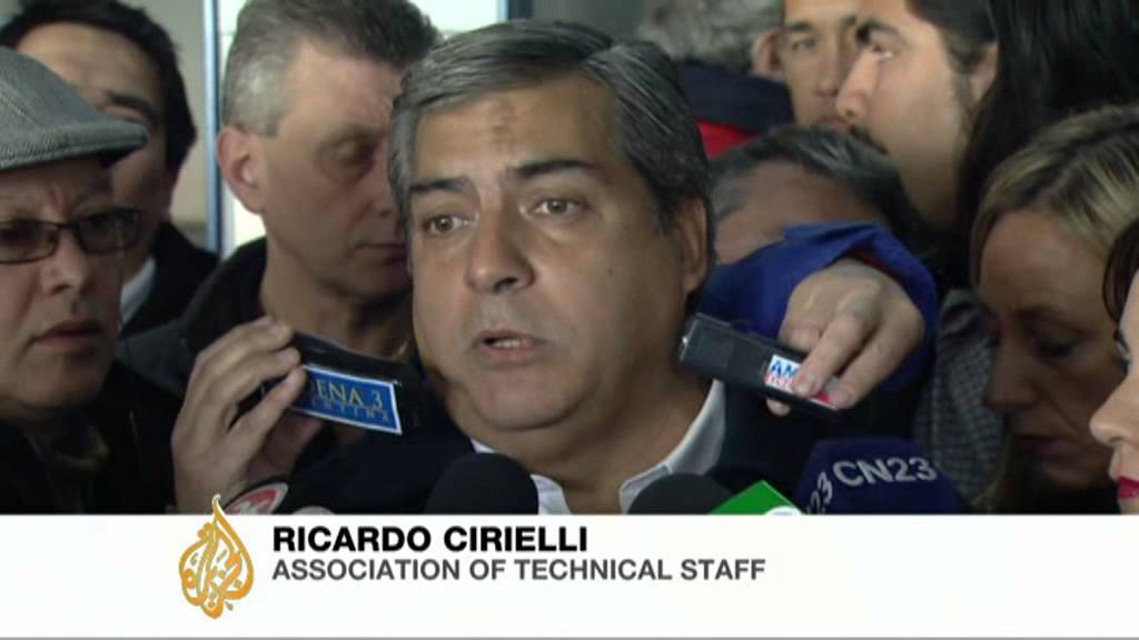 Chilean airline told to vacate Buenos Aires hangar