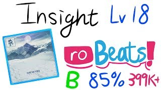 Roblox Robeats | Insight | B/85% | 399k+ score