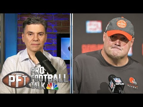 Freddie Kitchens not overreacting to Browns' blowout loss | Pro Football Talk | NBC Sports