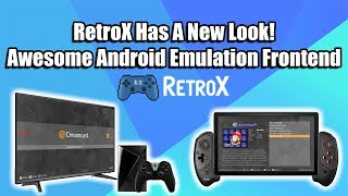 RetroX Has A New Look - Awesome Android Emulator Frontend