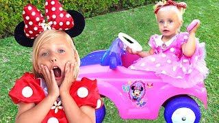 Алиса и Ева и День рождения Минни Маус / Сказки для Евы