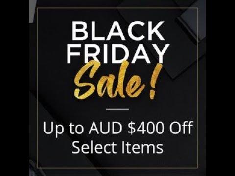 Black friday date in Australia