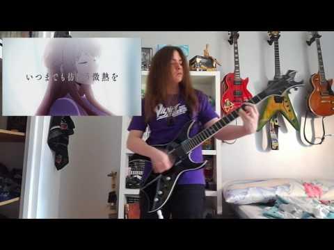 Kuzu No Honkai opening『Uso no Hibana』full guitar cover