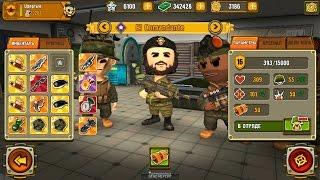 """Pocket Troops PVP """"Kабаны vs Upёртые"""" - El Comandante 16-го уровня."""