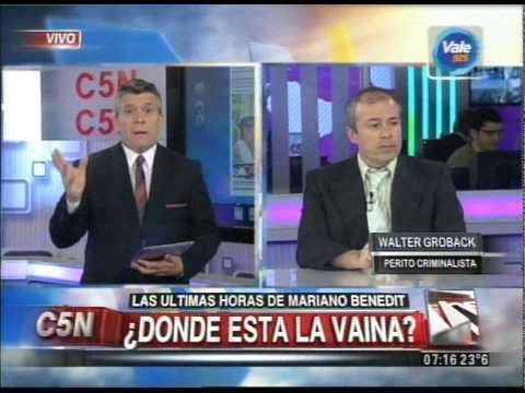 C5N - MUERTE DE MARIANO BENEDIT: ANALISIS CRIMINALISTICO