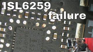 Macbook 820-2936 logic board dead; diagnosis and repair of U7000 circuit.
