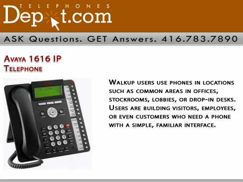 Avaya 1616 IP Telephone TelephonesDepot Business Phone Systems
