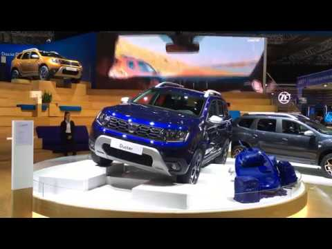 dacia duster iaa 2017 youtube. Black Bedroom Furniture Sets. Home Design Ideas