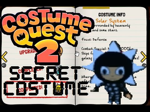 Costume Quest 2 - How To Get The Solar System Costume (Secret Costume)
