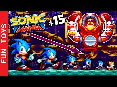Sonic Mania #15 - Sonic e Tails FICAM PEQUENOS neste gameplay IRADO de Sonic! 🔵 Fun Toys Brinquedos