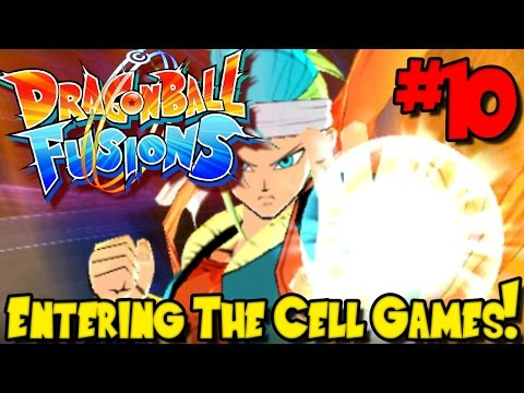 ENTERING THE CELL GAMES!   Dragon Ball Fusions (Gameplay / Playthrough) - Episode 10