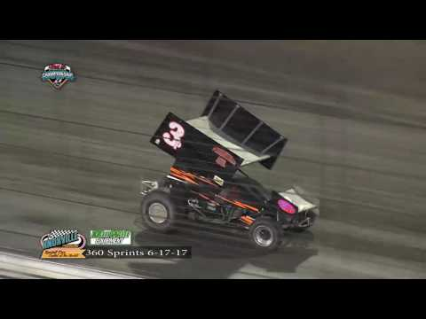 Knoxville Raceway 360 Highlights June 17, 2017