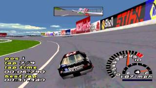 NASCAR 2000 Gameplay Championship Single Race (PS1,PSX,PsOne)