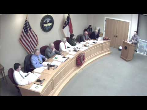 12/13/2016 Marine Commissioner Meeting and Town Council Meeting part 1- Town of Lake Lure - Live