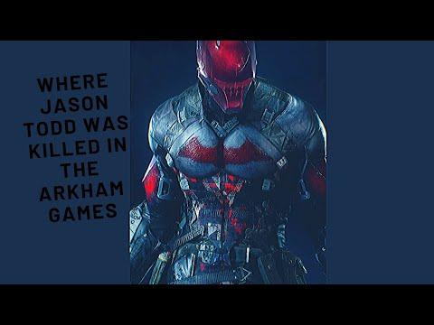 Batman Arkham Asylum - Where Jason Todd was killed |