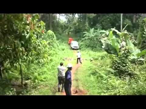 Alive and Well Sierra Leone 2010 Expedition Video Part 2 - Drilling for water.wmv