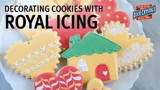 How To Decorate Cookies With Royal Icing With Bridget Edwards