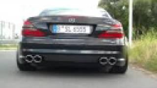 SUPERSPORT MERCEDES SL 55 AMG 550 PS
