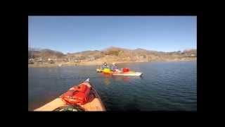Lake daecheong Kayak camping