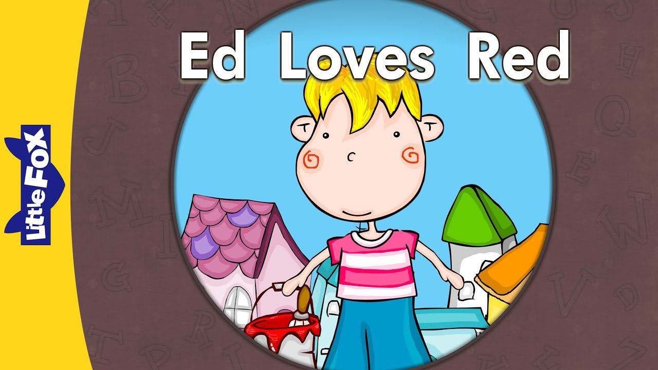 'E' words: Ed Loves Red | Level 3 | By Little Fox