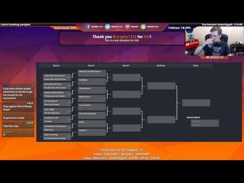 Donation Sound 1v1 Tournament Full Replay (Live Stream Highlight) [Twitch]