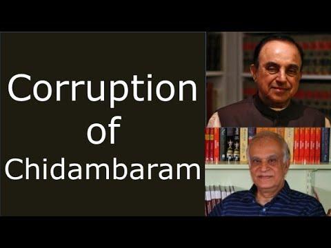 Corruption of Chidambaram