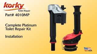How to install a Complete Platinum Toilet Repair Kit by Korky