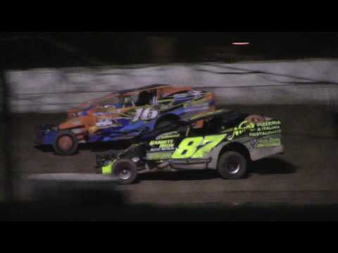 Ransomville Speedway Novice Sportsman Feature Highlights 6-30-17