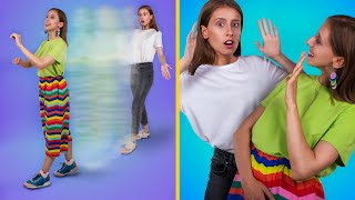 Rainbow Hacks And Crafts! / 11 Cool Girly And Beauty Hacks
