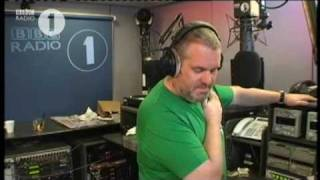 Noel Gallagher at Chris Moyles Show 090709