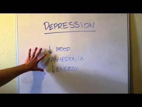 How to Diagnose Depression: SIG E CAPS