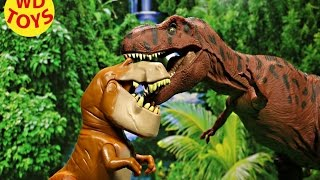 new the good dinosaur butch vs giant t rex jurassic world disney pixar by wd toys