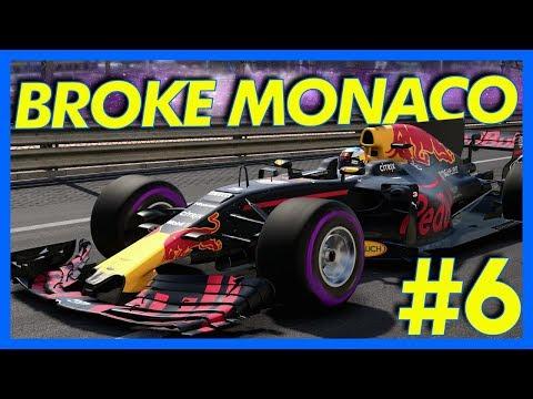 F1 2017 Career Mode Gameplay : WE BROKE MONACO!! (Part 6)