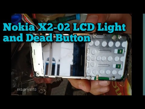 Nokia X2-02 LCD Light And Dead Button