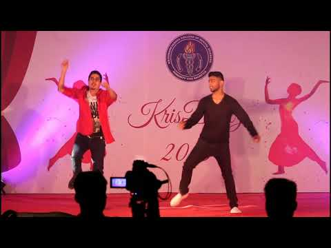 KCDS Bangalore College fest dance , Bollywood dance by