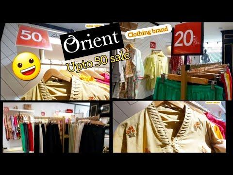 Orient Winter Clearance sale flat 50% / flat 30% off  2021