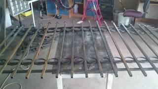 Кованый забор своими руками быстро легко(Как сделать легкий кованый забор самому., 2016-04-30T19:14:11.000Z)