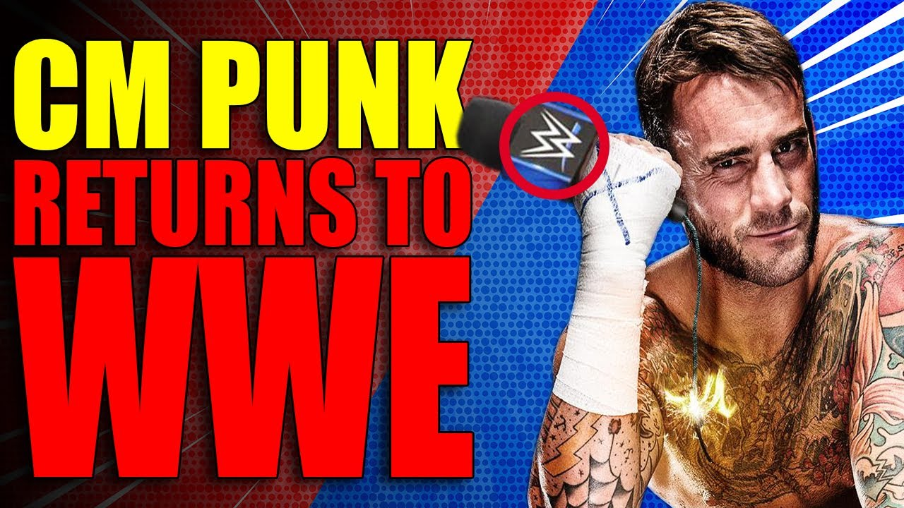 CM PUNK Makes SHOCK RETURN TO WWE! WWE CAUGHT Editing Out Boos for RAW! Wrestling News!