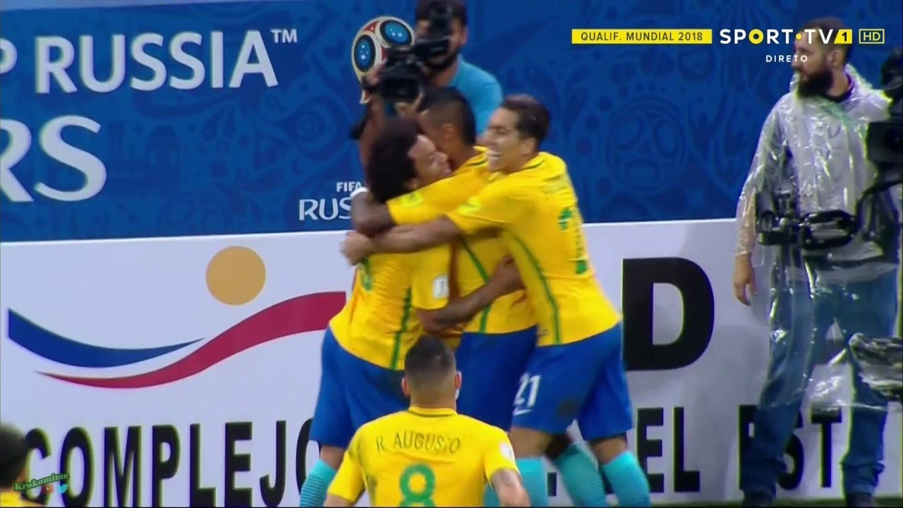Download ★ BRAZIL 3-0 PARAGUAY ★ 2018 FIFA World Cup Qualifiers - All Goals & Penalty Miss ★