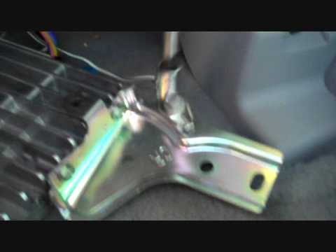Toyota Camry JBL Amplifier Removal - YouTube