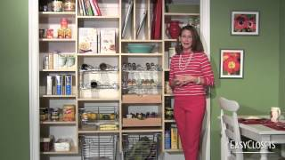 DIY Organizing Ideas: Closet, Pantry, Laundry Room