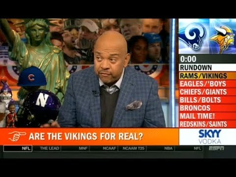 Pardon The Interruption 11/20/2017 - Are the Vikings for Real?
