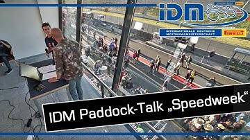 IDM 2019 - Paddock Talk: IDM meets Speedweek (Live aus Oschersleben)