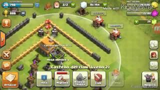 Clash of clans ITA 3: La war perfetta e base nuova
