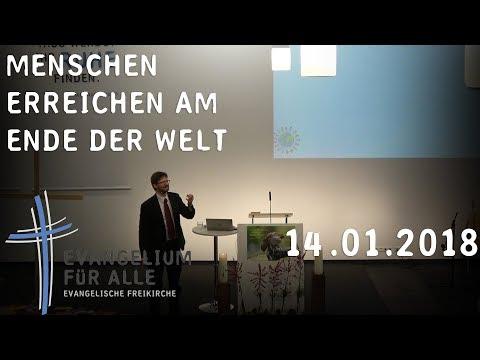Menschen erreichen am Ende der Welt. Hans Walter Ritter, 14.01.2018
