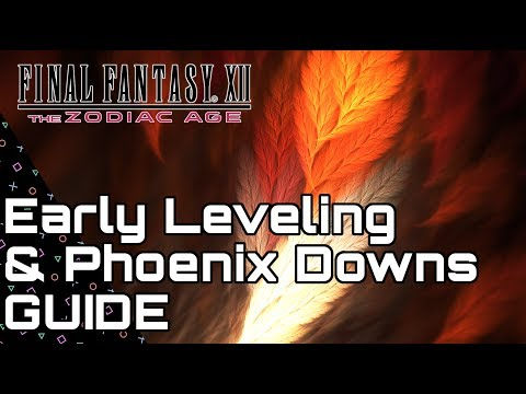 Final Fantasy XII Zodiac Age PS4 - Early Power Leveling & Ph