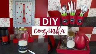 Ideias Fáceis e Baratas De Decorações Para a Cozinha